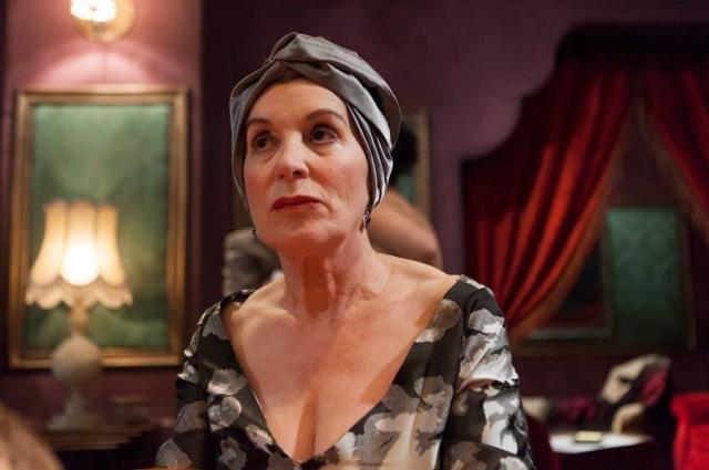 A actriz Mela Casal recibe o Premio de Honra Fernando Rey da Academia Galega do Audiovisual