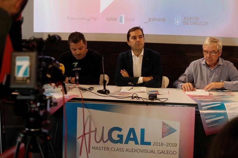 AuGAL Master Class Audiovisual Galego 2018-2019