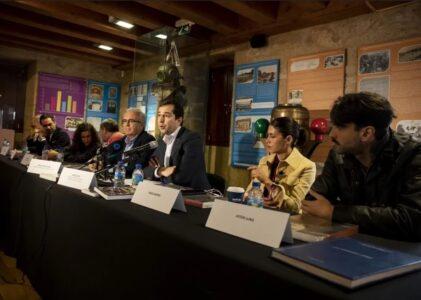 Paula Cons inicia a rodaxe do filme O SANTA ISABEL con Nerea Barros, Darío Grandinetti e Aitor Luna