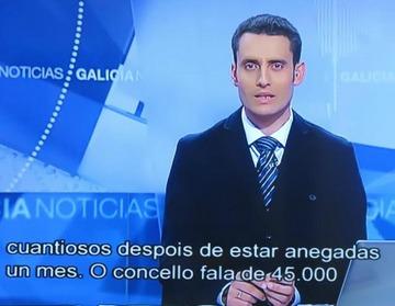 A TVG comeza a incluír subtítulos nos seus programas informativos