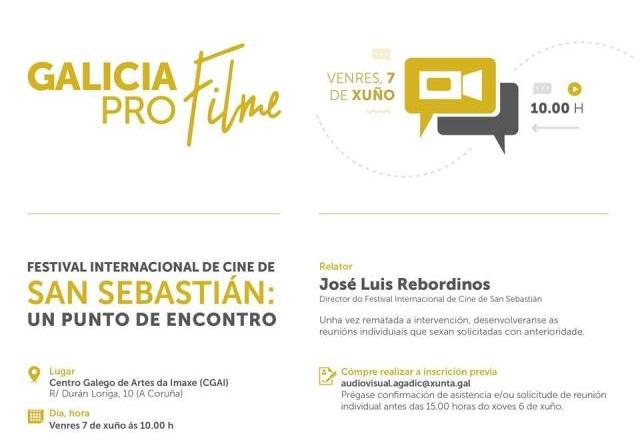 Encontro con Jose Luis Rebordinos. 7 de xuño, Coruña