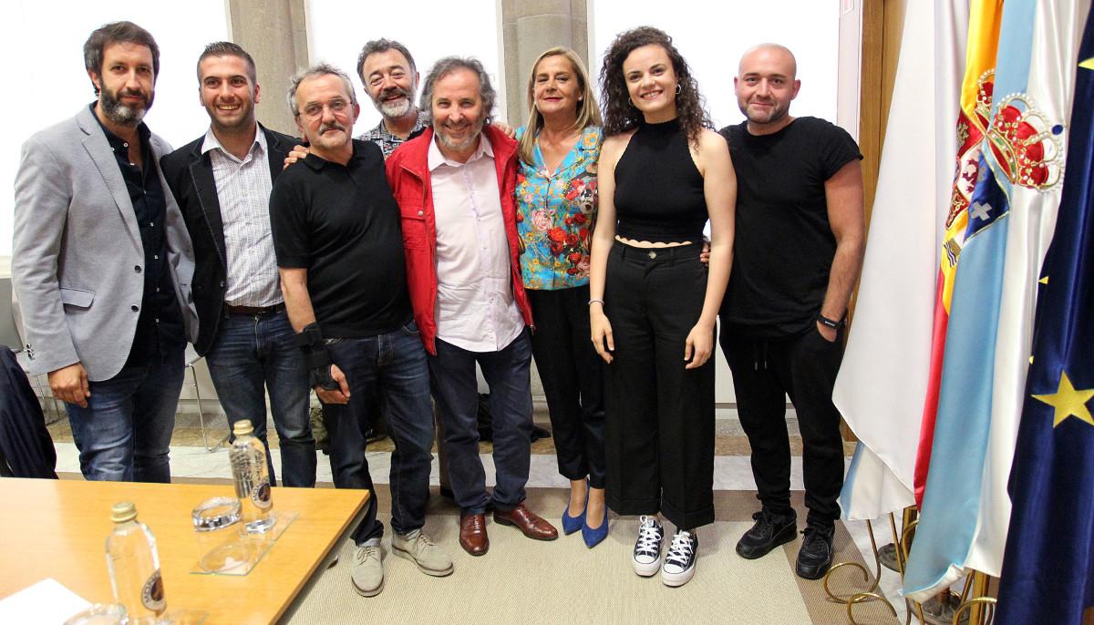 """A Deputación de Pontevedra apoia a nova película de Ignacio Vilar, """"María Solinha"""""""