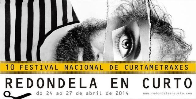O Festival Nacional de Curtametraxes REDONDELA EN CURTO celebra a súa décima edición do 24 ao 27 de abril