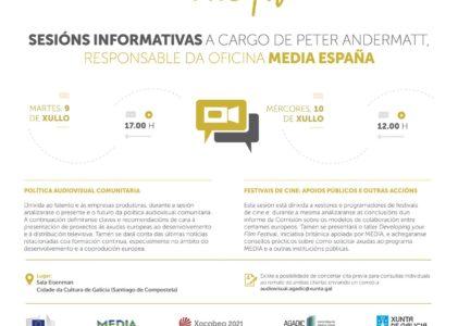 Sesión informativa:  Festivais de cine, apoios públicos e outras accións