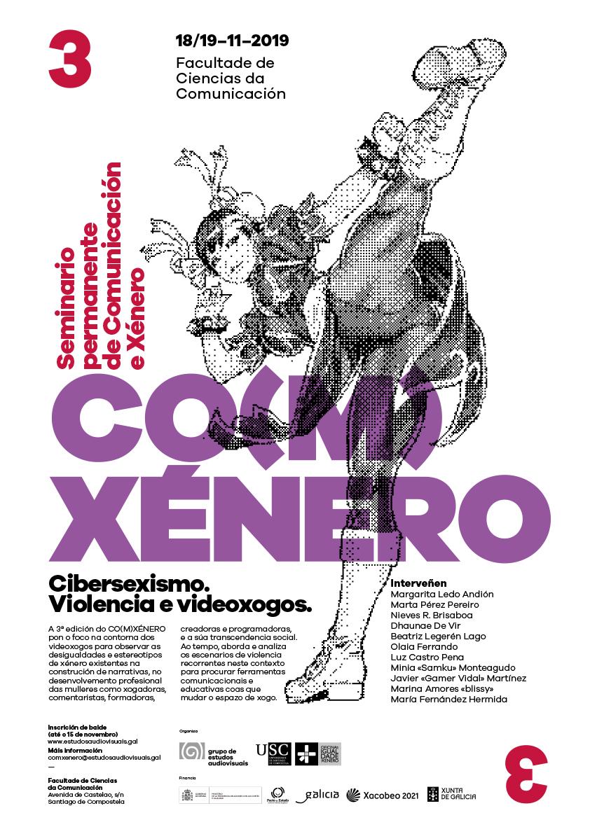 3ª Edición do CO(M)XÉNERO, Seminario Permanente de Comunicación e Xénero da USC