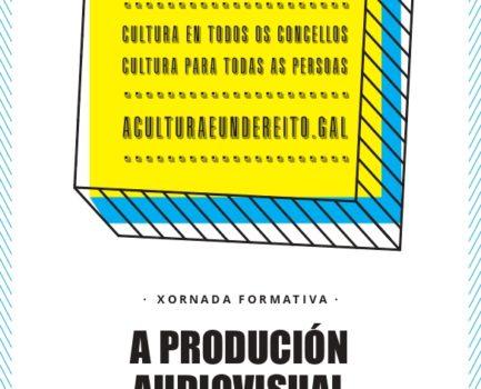 A DEPUTACIÓN DA CORUÑA organiza en colaboración con AGAPI unhas xornadas formativas que levan por título 'A produción audiovisual a debate'
