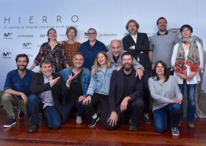 A serie 'HIERRO' producida por Portocabo galardoada con dous Premios Ondas
