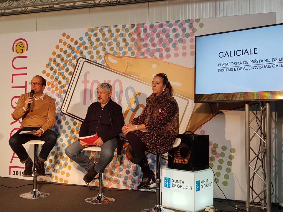 Presentación de GaliciaLe no Culturgal