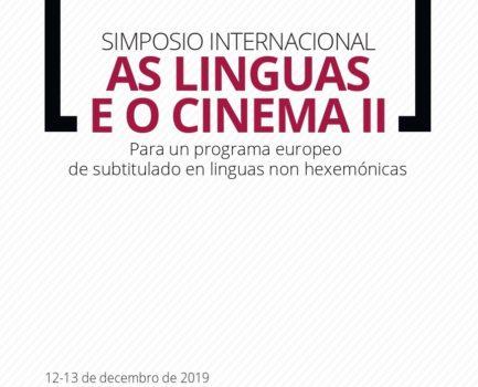 Simposio internacional 'As Linguas e o Cinema'