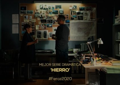 A serie 'Hierro' producida por Portocabo galardoada con dous Premios Feroz