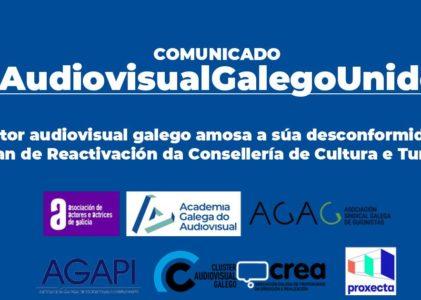 O sector audiovisual galego amosa a súa desconformidade co Plan de reactivación da Consellería de Cultura e Turismo