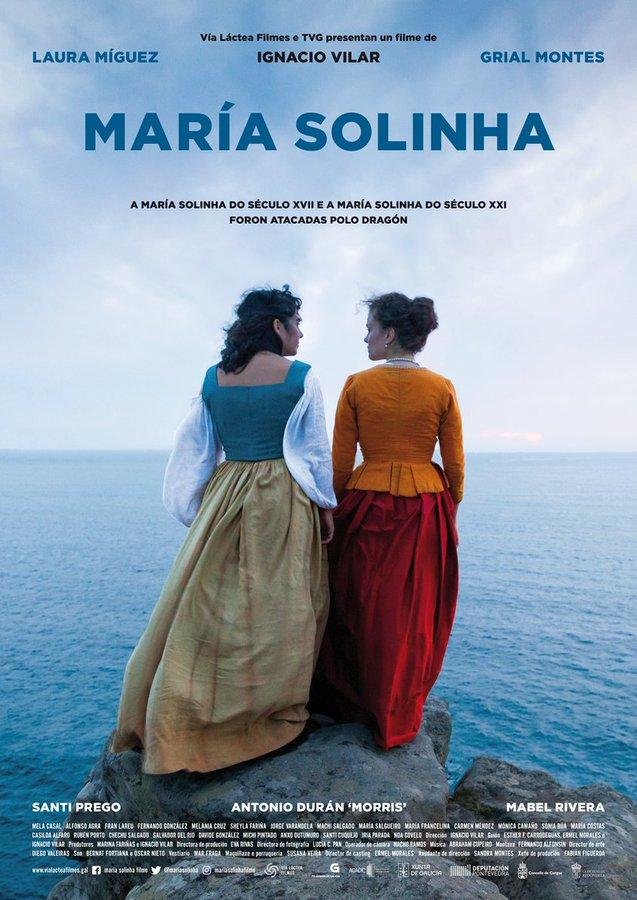 Rolda de prensa de presentación do filme 'Maria Solinha'