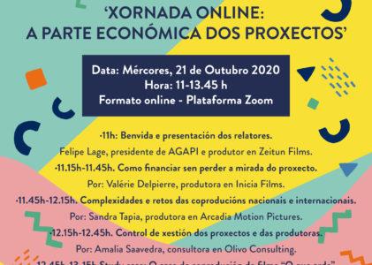 Xornada en liña: 'A parte económica dos proxectos'
