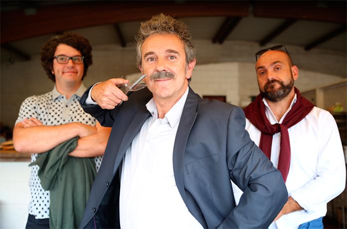 A comedia 'Cuñados', primeira longametraxe da produtora  Portocabo, estrearase en abril en cinemas