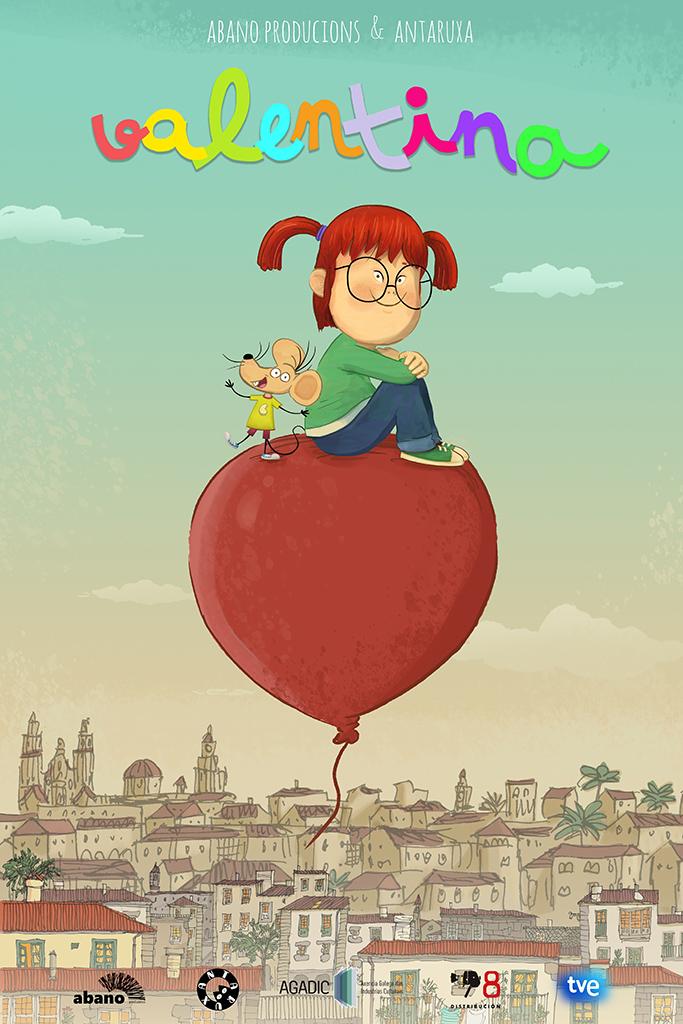 O proxecto de 'Valentina', impulsado por Abano producións chega ao Cartoon Movie