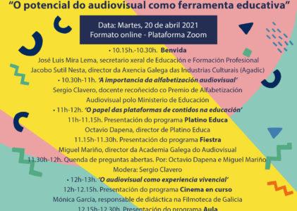 Agapi organiza unhas novas xornadas formativas centradas na educación audiovisual