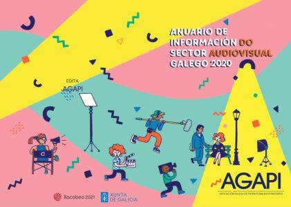 Agapi publica o Anuario de Información do Sector Audiovisual Galego 2020
