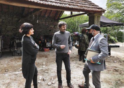 Zarauza remata a rodaxe do filme de terror 'Malencolía', producido por Maruxiña Film Company