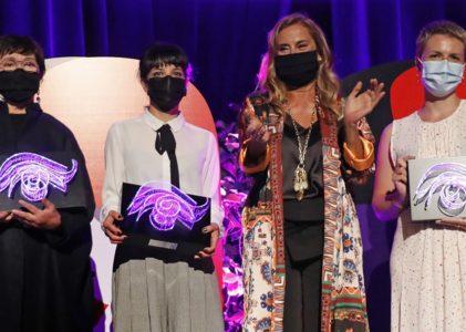 Margarita Ledo, Sonia Méndez e Noemí Chantada, premios 'Mulleres no Foco'